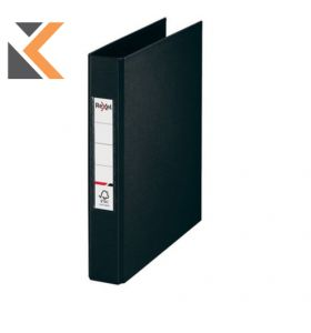 Rexel Choices A5 Ring Binder, 2 O-Ring, Black - [25mm Spine]
