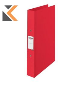 Rexel Choices A4 Ring Binder, 2 O-Ring, Red - [25mm Spine]