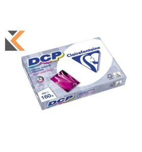 Clairefontaine Dcp-White Paper A4 160 Gsm - [1 Ream Of 250 Sheets]