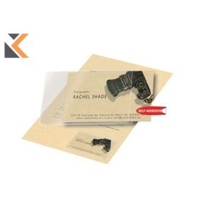 3L 60 X 95mm Self-Adhesive Business Pockets Card - [Pack of 10]