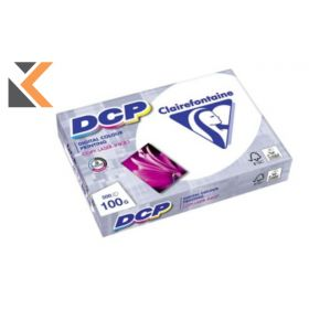 Clairefontaine Dcp-White  Paper A4 100Gsm - [1 Ream Of 500 Sheets]