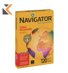 Navigator-Colour Documents 120Gsm A4 Paper - [Ream Of 250 Sheets]