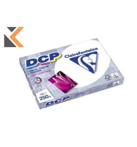 Clairefontaine Dcp-White Paper A4 250 Gsm - [1 Ream Of 125 Sheets]