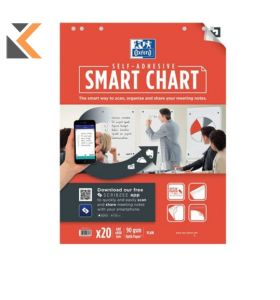 Oxford Smartchart Plain 60X80cm - [Pack of 3]