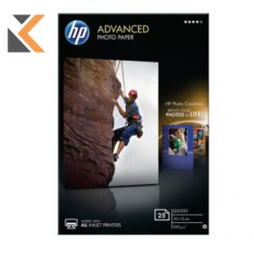 HP-Advanced Photo Q8691A Paper - [Pack Of 25 Sheets]