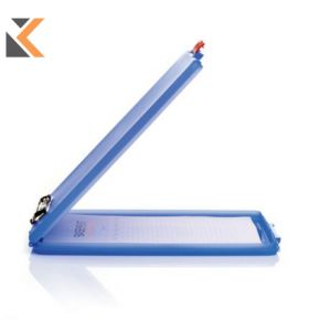Slimcase Clipboard Blue A4