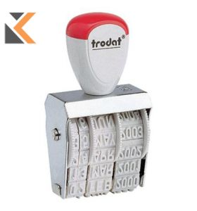 Trodat 1010 Standard Dater Stamp Character Size - [4mm]