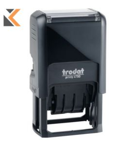Trodat 4750 Printy Self-Inking 'Received' Dater Stamp Character Size - [4mm]