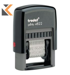 Trodat 4822 Printy Self-Inking Phrase Stamp - [4mm] Character Size