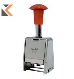 Trodat 5756 Metal Automatic Numbering Machine - [4mm 26 X 4mm]