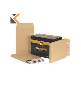 New Guardian- Seal Gusset Envelopes And Manilla C4 Peel 130Gsm - [Box Of 100]