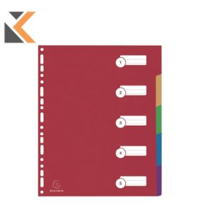 Tab Dividers 1-31 Laminated Unpunched A4 - [Pk15]