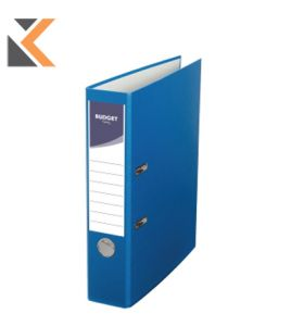 Exacompta Lever Arch File PVC A4 Blue Light - [70mm]