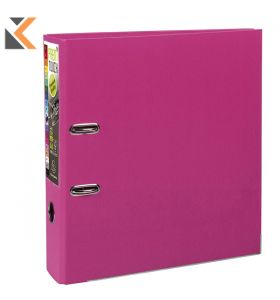 Prem'touch PP Lever Arch File Pink - [80mm]