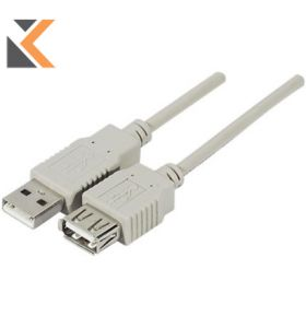 USB 2.0 Extension Cable Male To Female - [2 Metres]