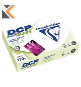 Clairefontaine Dcp-Green Recycled White Paper A4 120 Gsm  - [1 Ream Of 250 Sheets]