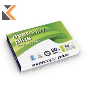 Evercopy-Plus Recycled  A3  Paper 80 Gsm - [1 Ream Of 500 Sheets]